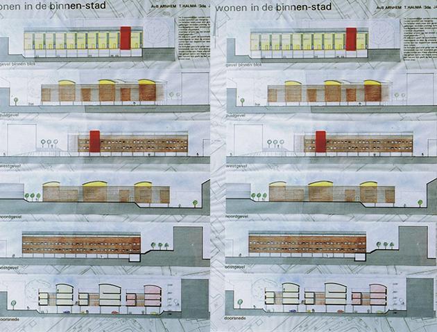 Maquetten Apeldoorn halma architecten 3